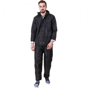Finery Self Design Men Raincoat