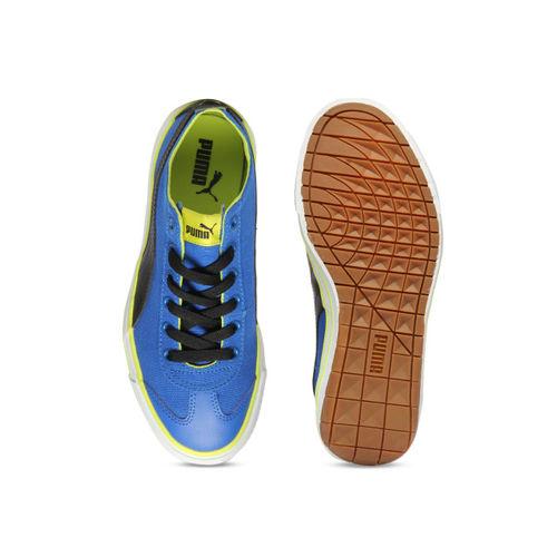 Puma Unisex Blue Sneakers