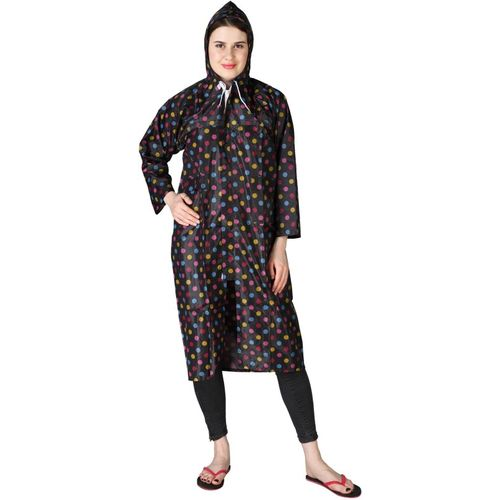 ZACHARIAS Polka Print Women Raincoat