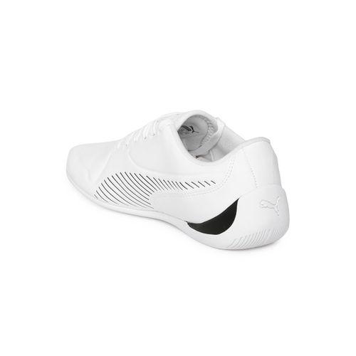 Puma Kids White SF Drift Cat 7S Ultra JR Striped Sneakers