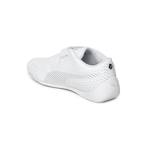 Puma Kids White BMW MMS Drift Cat 7S Ultra V PS Sneakers