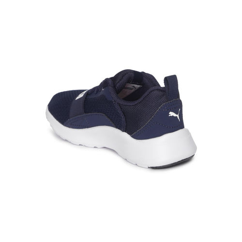 Puma Unisex Navy Blue Sneakers