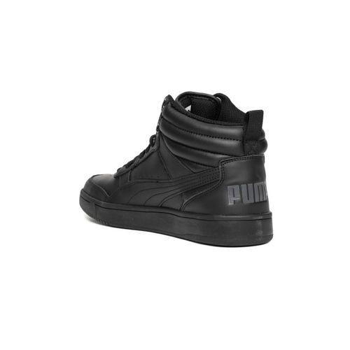 Puma Boys Black Rebound Street v2 L Jr Sneakers