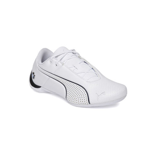 Puma Kids White BMW MMS Future Cat Ultra Junior