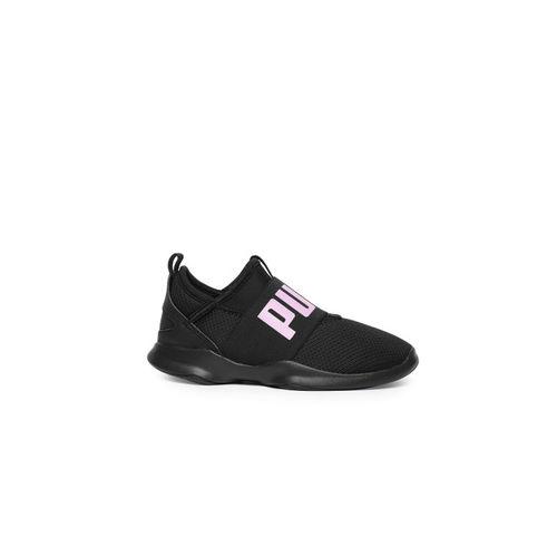 Puma Unisex Black Dare PS Slip-On Sneakers