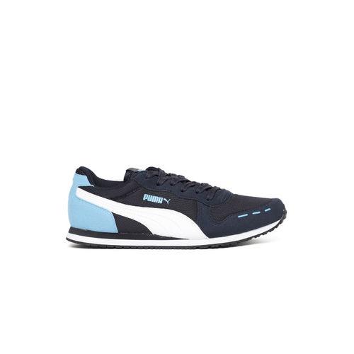 Puma Unisex Navy Cabana Racer Mesh Sneakers