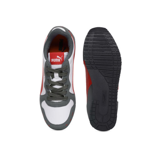 Puma Unisex Grey Cabana Racer SL JR IDP Sneakers
