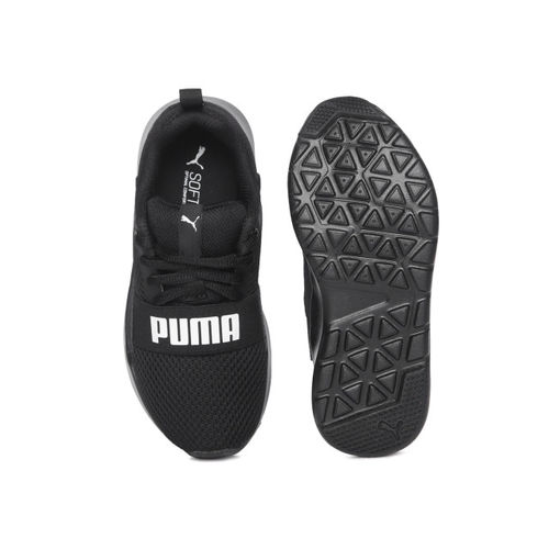 Puma Kids Wired PS Black Sneakers
