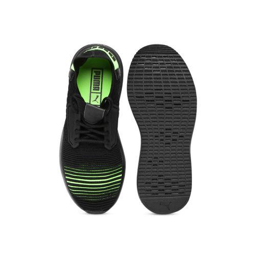 Puma Kids Black Uprise Color Shift Jr Sneakers