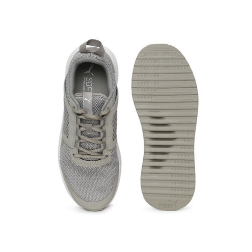 Puma Grey Kids Pacer Next Net Junior Sneakers