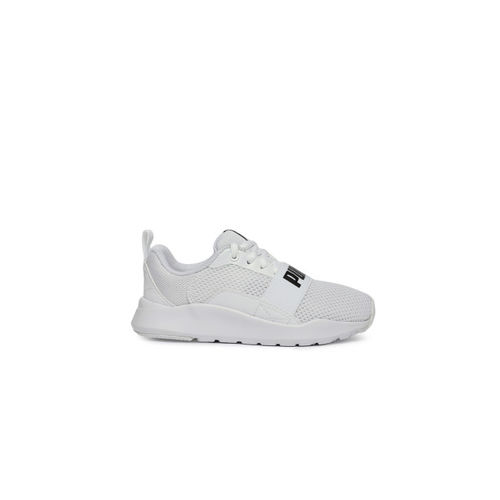 Puma Unisex White Wired PS Sneakers