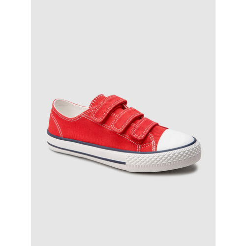 next Boys Red Sneakers