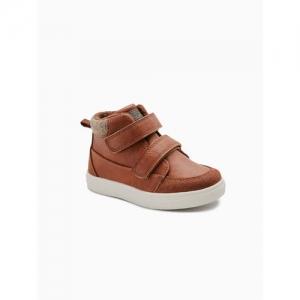next Boys Tan Brown Slip-On Sneakers