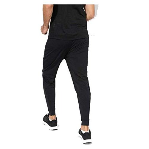 FINZ Black Jogger Pants for Men