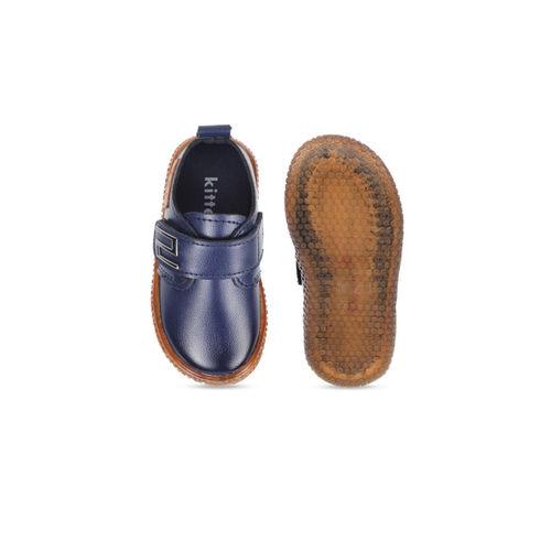 Kittens Boys Blue Slip-On Sneakers