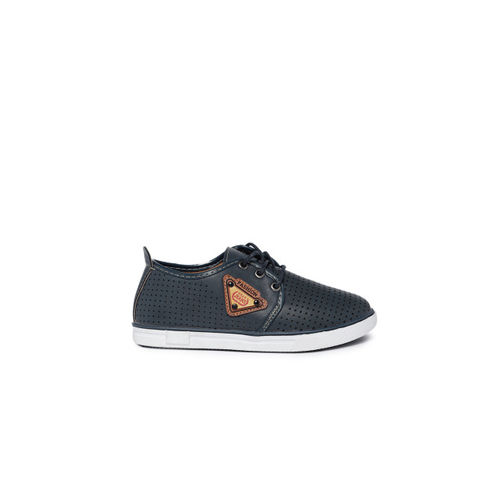 Kittens Boys Navy Blue Sneakers