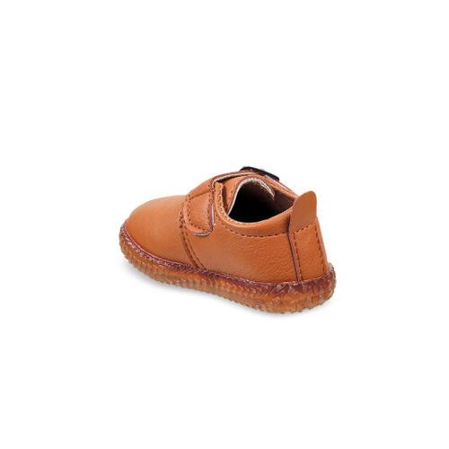 Kittens Boys Tan Brown Slip-On Sneakers