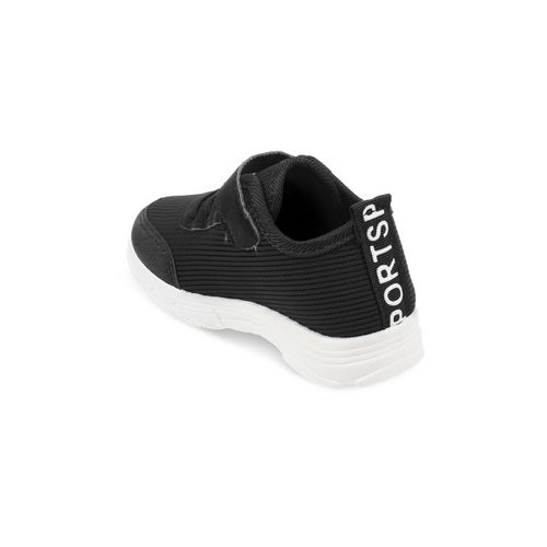 Kittens Boys Black Sneakers