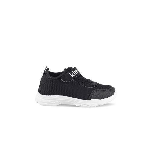 Kittens Boys Black Sneakers