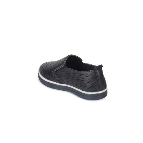 Kittens Boys Navy Blue Lightweight Slip-On Sneakers