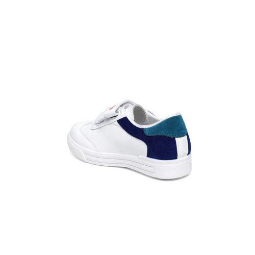 Kittens Boys White Sneakers