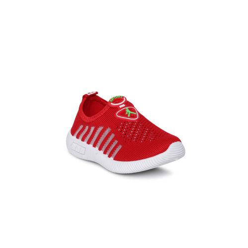 Kittens Boys Red Slip-On Sneakers