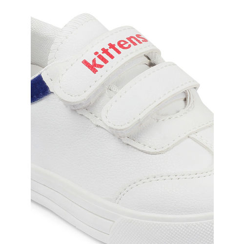 Kittens Boys White Sneakers