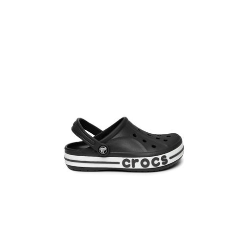 Crocs Unisex Black Bayaband Solid Clogs