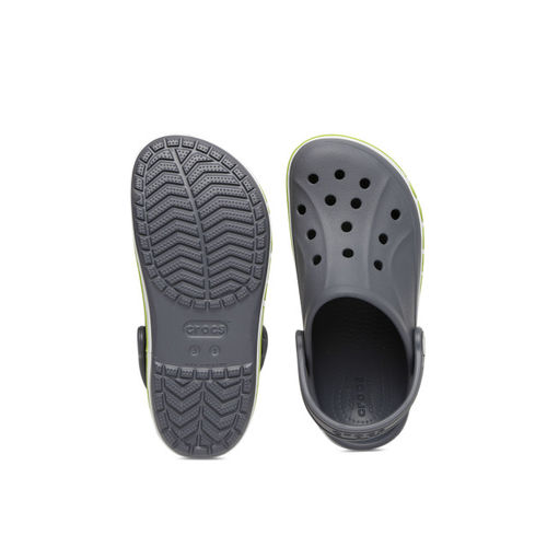 Crocs Unisex Grey Bayaband Solid Clogs