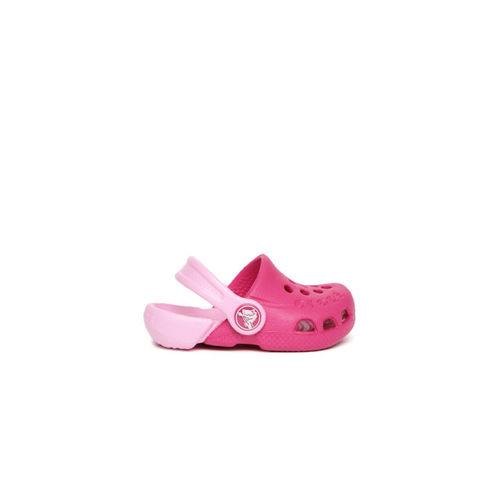 Crocs Kids Pink Electro Clogs