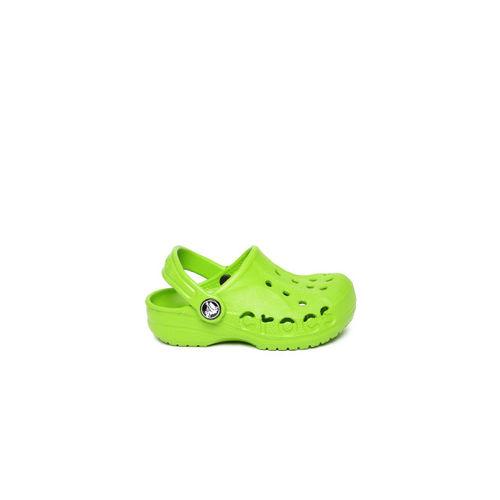 Crocs Kids Green Clogs