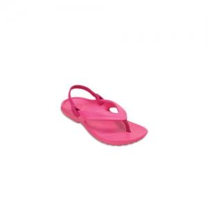 Crocs Boys Pink Solid Clogs