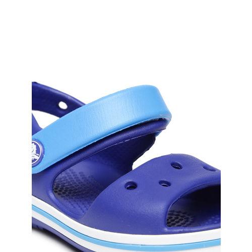 Crocs Unisex Blue Colourblocked Clogs