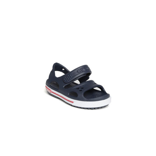 Crocs Boys Navy Clogs