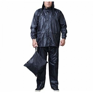 Zacharias Men's Rainsuit Z Black
