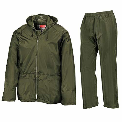 Romano Waterproof Rain Coats Men with Jacket and Pant