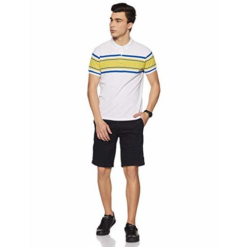 Pepe Jeans Men's Striped Regular fit Polo