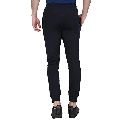 Fitg18 Black Jogger Pants for Men