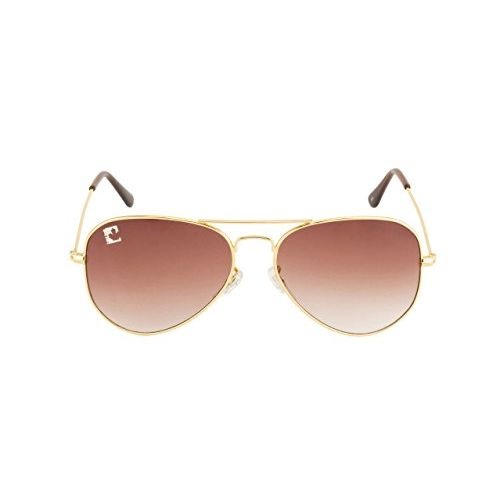 clark n palmer Gradient Aviator Unisex Sunglasses - (CNP-RB-724 58 Brown Color Lens)