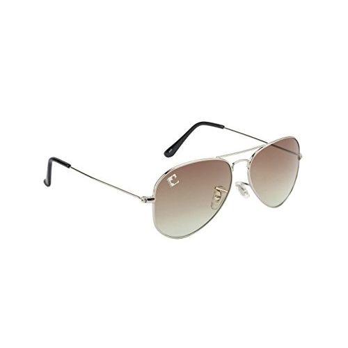 clark n palmer Gradient Aviator Unisex Sunglasses - (CNP-RB-725|58|Green Color Lens)