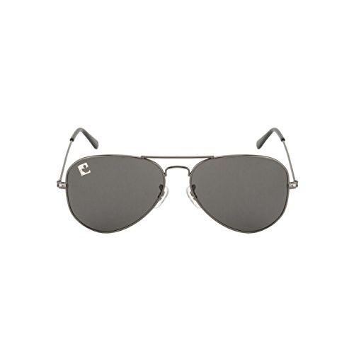 clark n palmer UV Protected Aviator Unisex Sunglasses - (CNP-RB-731|58|Black Color Lens)