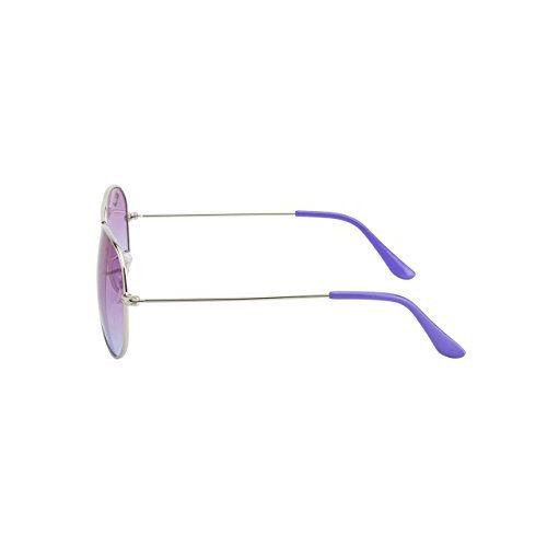 clark n palmer Gradient Aviator Unisex Sunglasses - (CNP-RB-727|58|Multi-Colored Lens)