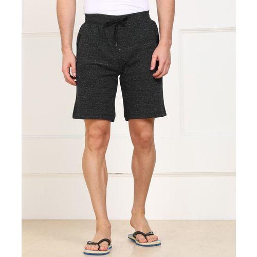 Jockey Self Design Men Grey Sports Shorts