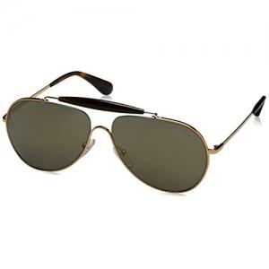 PRADA Golden Colour Sunglasses (0Pr56Ss 5Ak4L0 59 5AK4L0)
