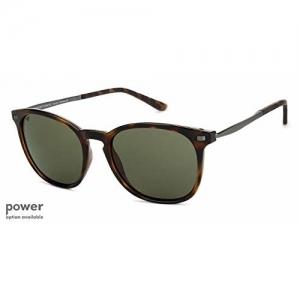 Vincent Chase Tortoise Metal Full Rim Wayfarer Medium NOMADES VC S11747 -C3 Unisex Sunglasses (131332, Green, Size-53)