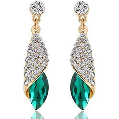 You Bella Stylish Fancy Party Wear Jewellery Earrings Alloy Drops & Danglers