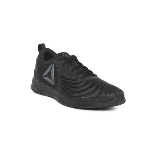 Reebok Men Black Astroride Essential Walking Shoes