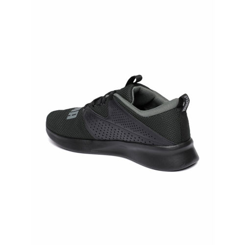 Puma Men Black Detector Running Shoes