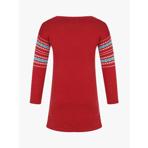 United Colors of Benetton Red Casual Dress