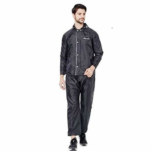 ZEEL WATERFIGHTER PVC Waterproof Rainsuit Black